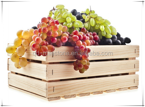 Durable solid wooden boxes cheap wooden fruit crates for for Buy wooden fruit crates