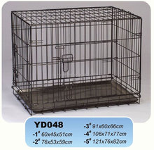 decorative folding metal wire dog cages crate pet kennel manufacturer Individual package