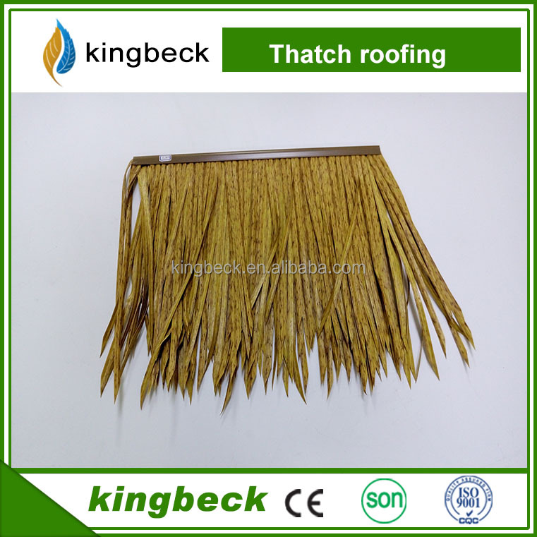 Fireproof Practical and Synthetic artificial water reed thatch roof gazebo roof