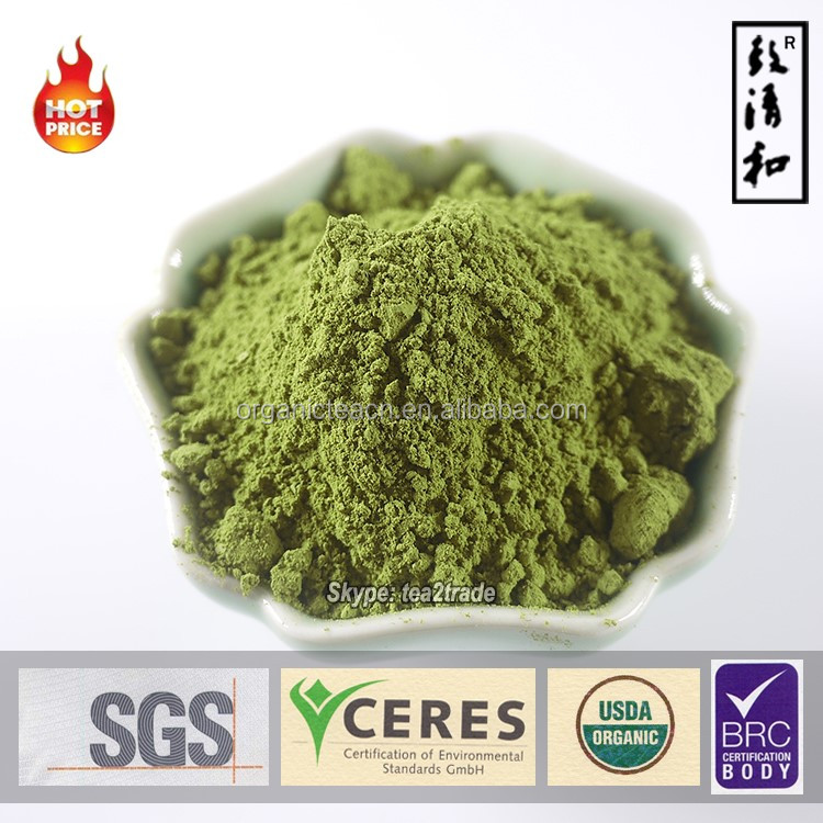 100% Natural Water soluble instant tea powder brands/Matcha Powder