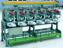 "High speed 4"" or 6"" sewing thread spool making machine"