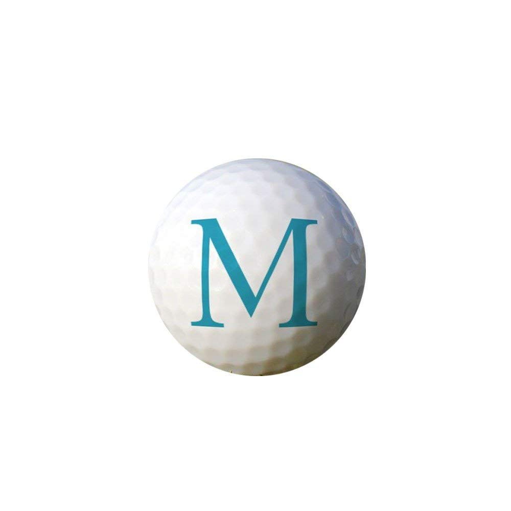 GiftsForYouNow First Initial Personalized Golf Ball Set