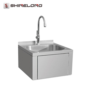 High Quality Top SS304/201 Nsf Small Stainless Steel Industrial Kitchen Sink