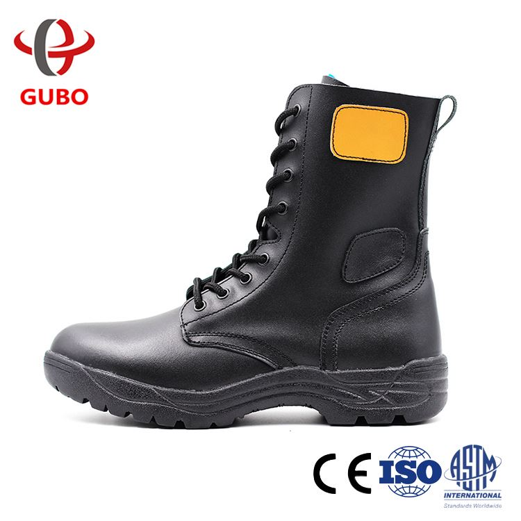OEM factory firefighter Cemented electrical resistance rubber protective boots