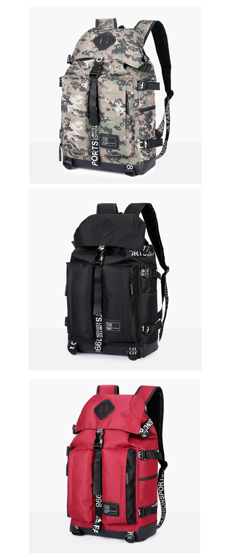 Osgoodway6 Wholesale Waterproof Sport Backpack China High Quality Big School Backpack for Student