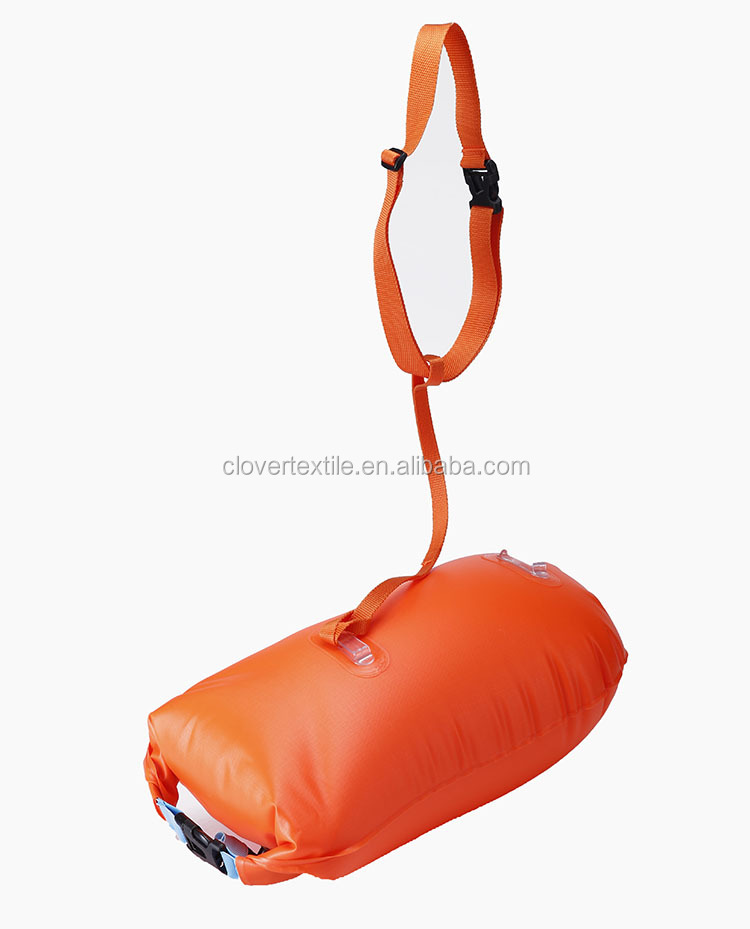 Inflatable Swim Buoy Waterproof Swimming Dry Bag PVC Safety Bouy for Swimmer