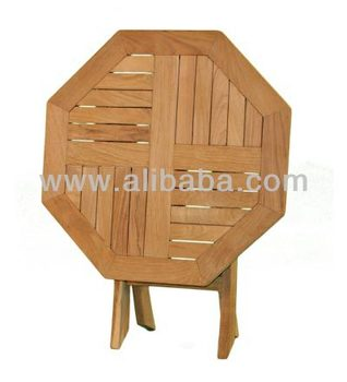 Salon De Jardin En Teck Octogonal Table Pliante - Buy Salon De Jardin En  Teck Table Pliante Product on Alibaba.com