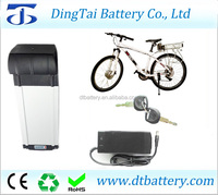 wholesale 36v 15ah lithium ion electric bike battery pack rear rack type with charger