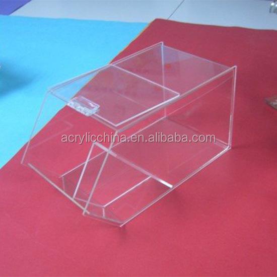 pr sentoir de bonbons en plexiglas bo te transparente sur. Black Bedroom Furniture Sets. Home Design Ideas