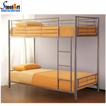 Cheap Price Knock Down Structure Steel Frame Double Bunk Bed With