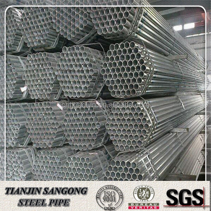 BS1387 galvanized pipe quick connect
