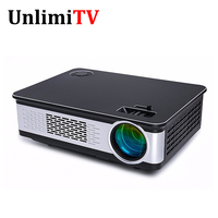 Support native resolution 1080p home LED projector/proyector HD