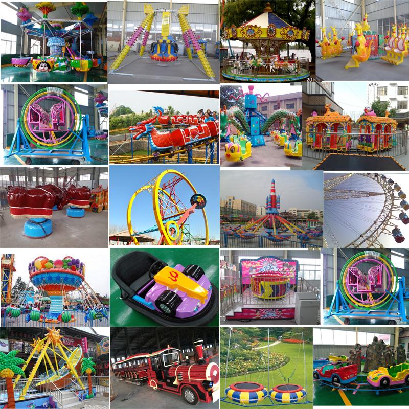 Divertimento a tema parco giochi per bambini piccolo mini ruota panoramica in vendita