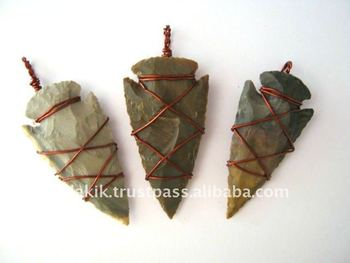 Wholesale arrowhead copper wire wrapped pendants buy gemstone wire wholesale arrowhead copper wire wrapped pendants aloadofball Choice Image