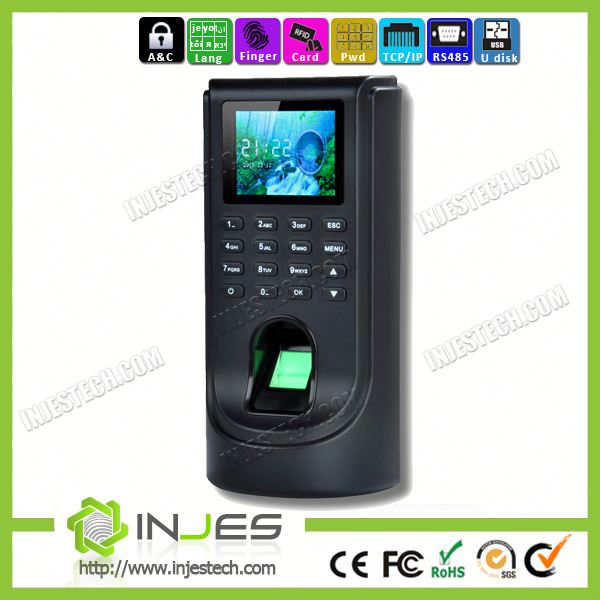 Affordable Single Network Fingerprint & RFID Card Access Control TCPIP