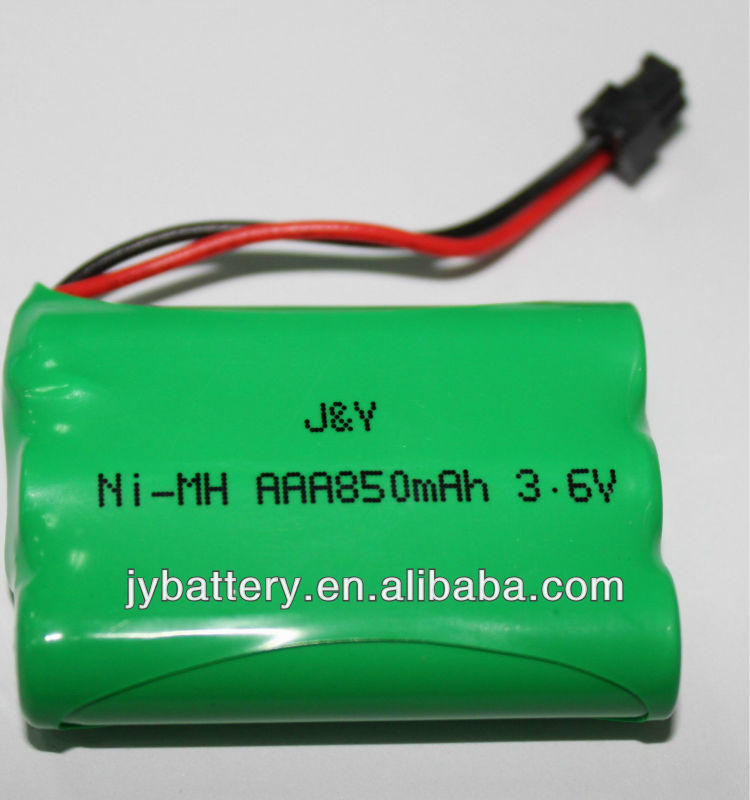 intercom cordless phones battery aaa 850mAH 3.6v