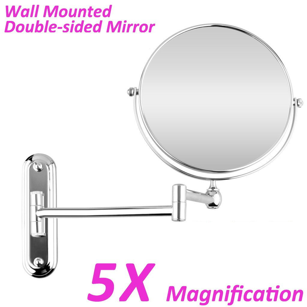 Get Quotations · BTSKY™ Chrome Finish ,360 Degree, 12 Inch Extension, 8 Inch