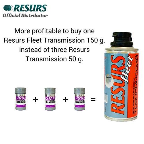 RESURS Fleet 150 g Manual Gearbox Restorer/Transmission Oil Additive/Gear Restorer/Manual Gearbox Restorer/Mechanical Gearbox Restorer/Gearbox Oil Additive/Manual Transmission Restorer