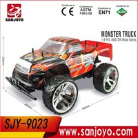 2015 New RC Nitro Truck!1:8 Scale 4WD Electric RC Monster Truck SJY-9023