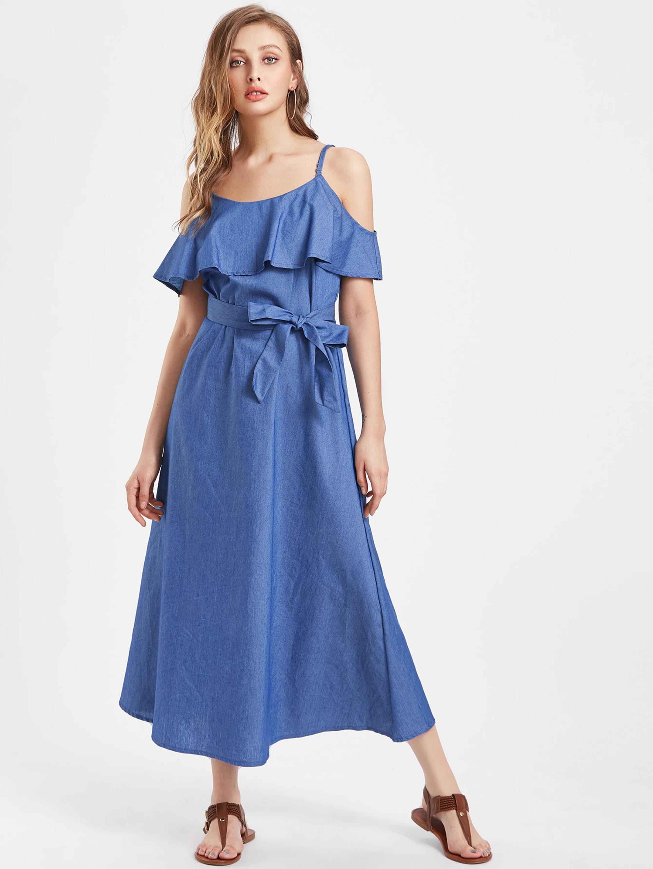 Amazon Hot Style European And American Women\'s Denim Dress Plus Size Maxi  Dress - Buy Spandex Dress,Plus Size Maxi Dress,Women Dress Shirt Product on  ...