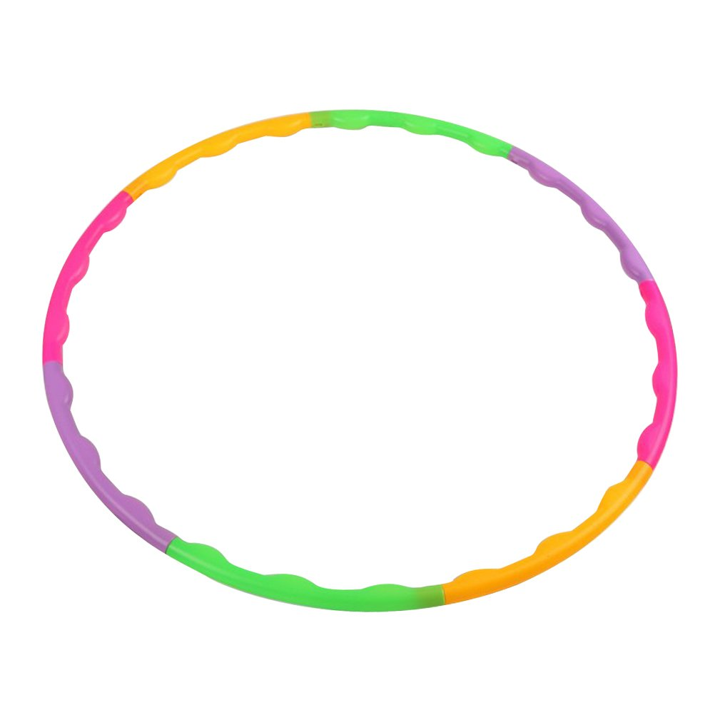 TOYMYTOY Kids Hula Hoop Detachable Fitness Hoop for Children's Exercise Fitness Workout Playing 65cm