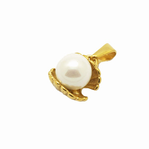 8mm White south sea rainbow shell pearl pendant designs on sale