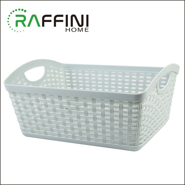 Foldable Boxes PP Plastic Totes Storage Basket