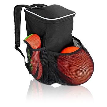 2018 nuevo estilo de baloncesto deportes mochila con bolsillo bola saco  mochila 61ee8e399bd2b