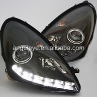 2004-2012 Year For Benz SLK R171 SLK200 SLK350 SLK500 LED Headlights Black Housing SN