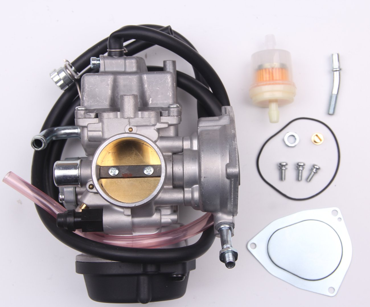 New Carburetor For Suzuki LTZ400 Quadsport Z400 ATV Quad Carb 2003-2007