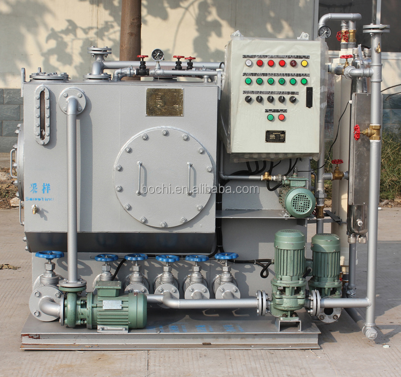 15ppm YWC-2.0 Oil Water sewage water treatment plant