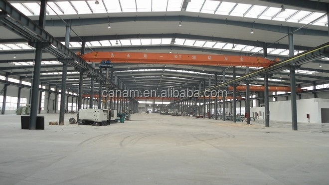 New design steel structure industrial plant