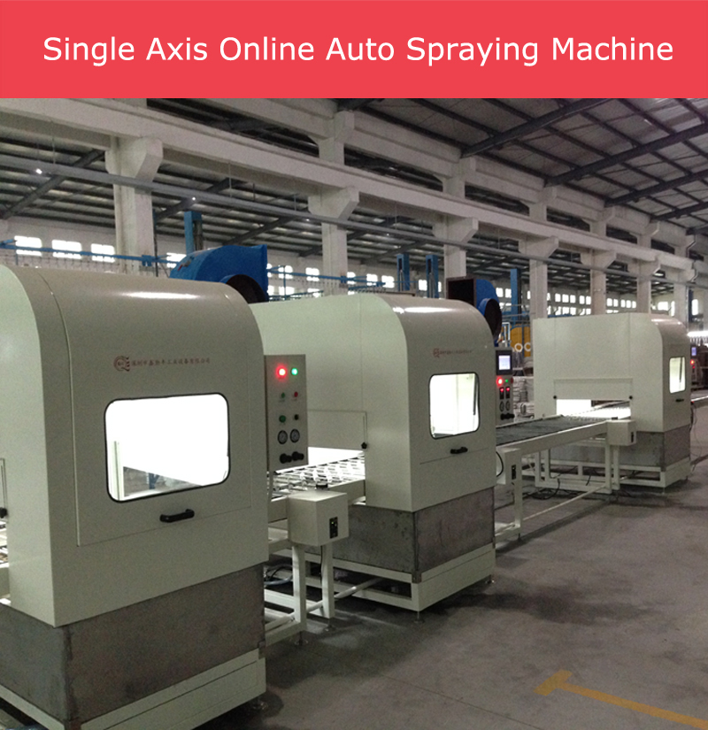 China factory spray painting machines for wood with PU,UV paint