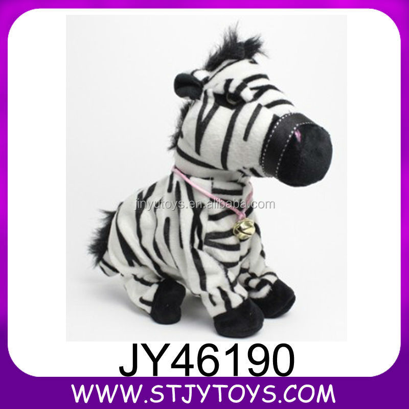Baby favorite stuffed doll sound control electric plush horse doll