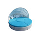 Bed furniture rattan sectional round bed