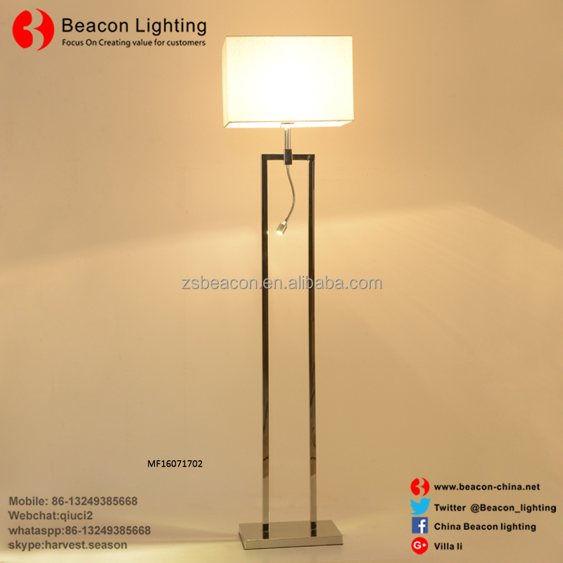 High End Low Cost Energy Saving Concise Design Fashionable Modern Indoor Led Floor Lamp With Reading Light For Home Mf8164