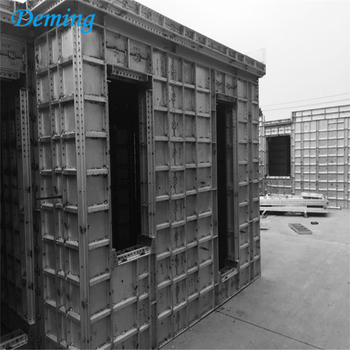 High Quality 6061 T6 Recycling Aluminium Concrete Wall Forms For Sale