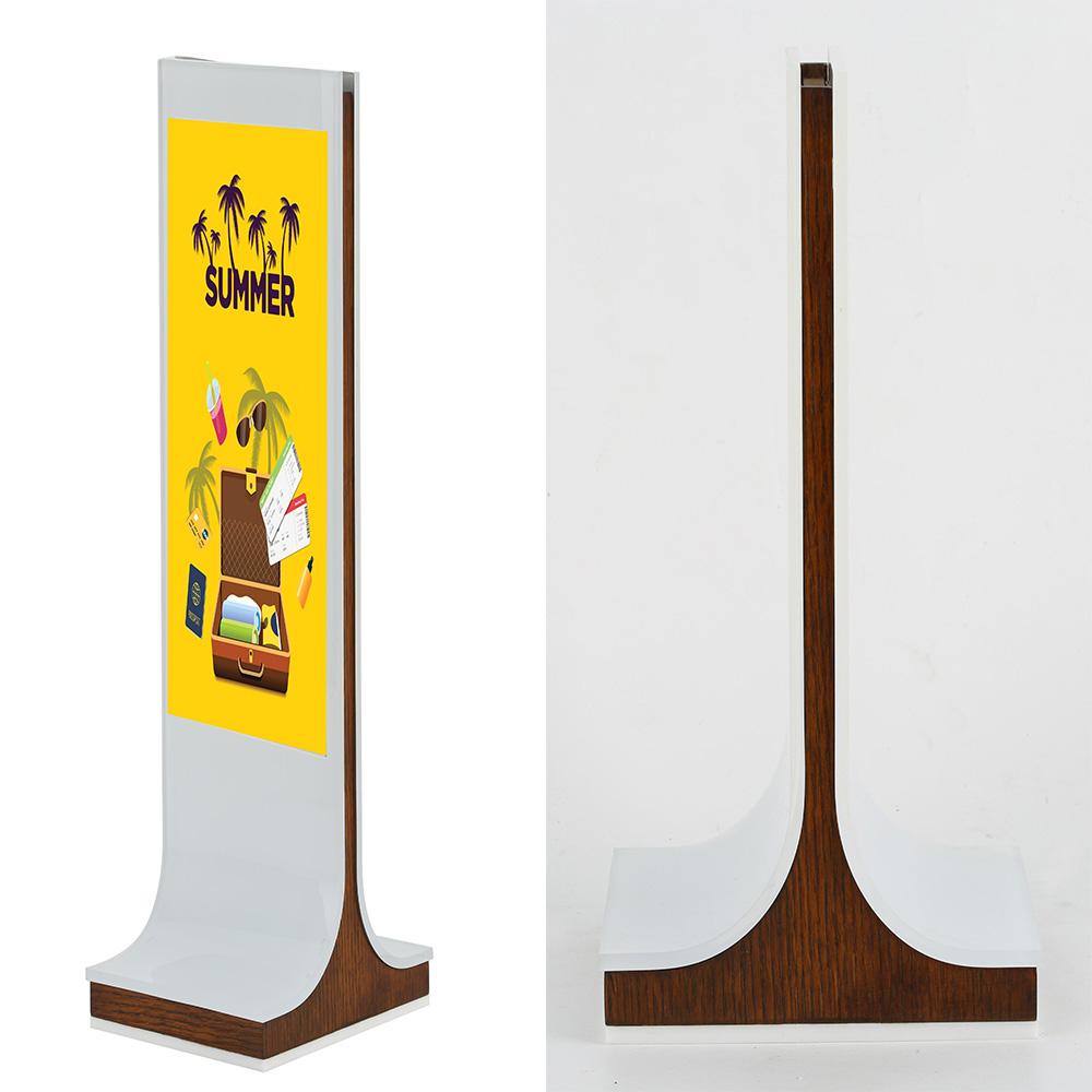 Frame Display Wood Table Stand Desk