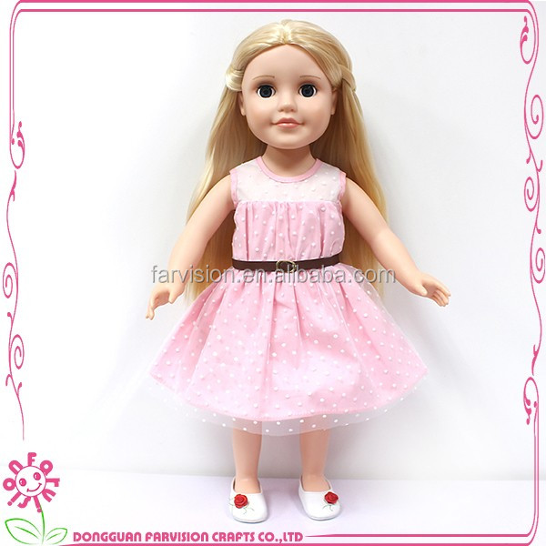 Lovely 18 inch vinyl baby dolls that look real for kids