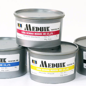 offset printing process ink 4 colors