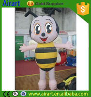 cartoon bee mascot costume,bee costume for child