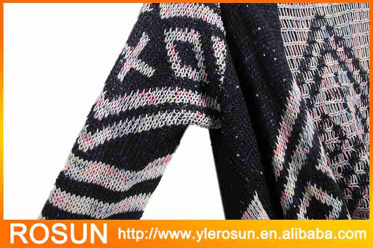 Knitted Patterns Aztec Cardigan Sweater Knitted Patterns Aztec