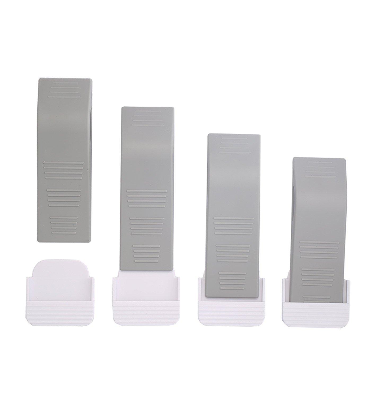 Get Quotations · MOT Global Door Stoppers For All Floor Surfaces   Non Slip Door  Stop Rubber Wedge