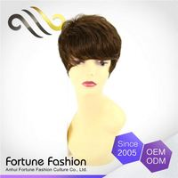 Luxurious Preferential Price Professional Romanze Miss Bun Hair Brown Five Star Wig