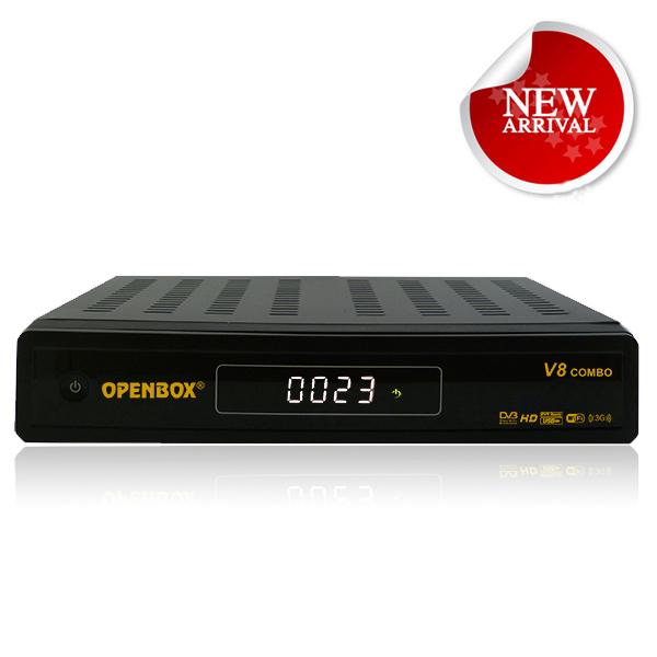 openbox v8 combo receptor dvbs2 dvbt2 dual cccam receptor de