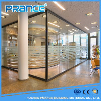 Glass partition wall have to considerate series of modern office
