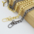 Handbag hardware metal bag chain, decorative chains for purse shoulder strap