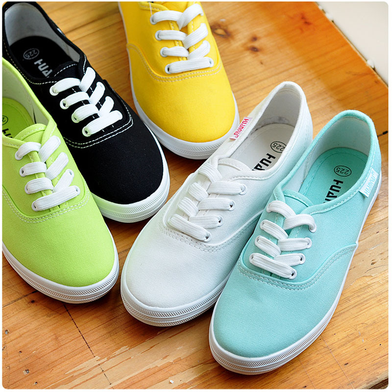 826b935455 2015 fashion women canvas shoes low breathable women solid color flat shoes  casual candy colors leisure