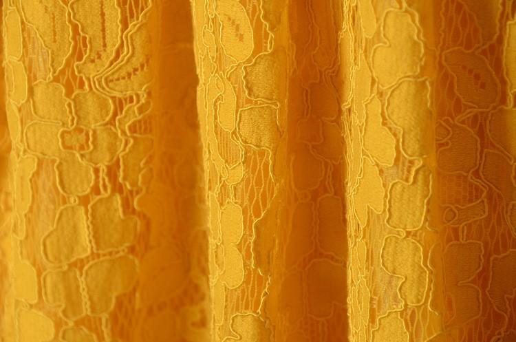 5e44fc31ad Fat Women Casual Lace Dress Yellow Cap Sleeve Skater Lace Dress Patterns