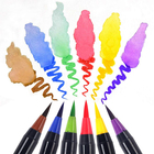 155mm Portable Paint Brush Hot Sell Colorful Shaped Water Brush Pen